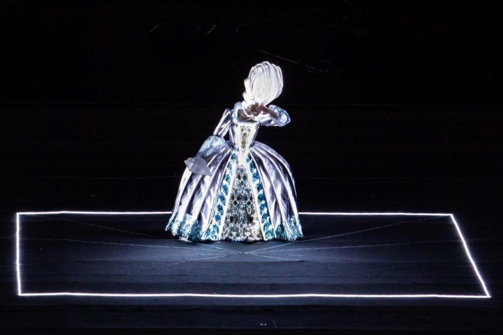 Marie-Antoinette, le destin d'une reine. Spectacle pyrotechnique, Orangerie du château de Versailles  3797-m10