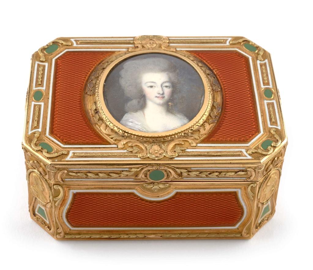 Portraits de Marie-Antoinette sur les boites et tabatières - Page 2 4013_110