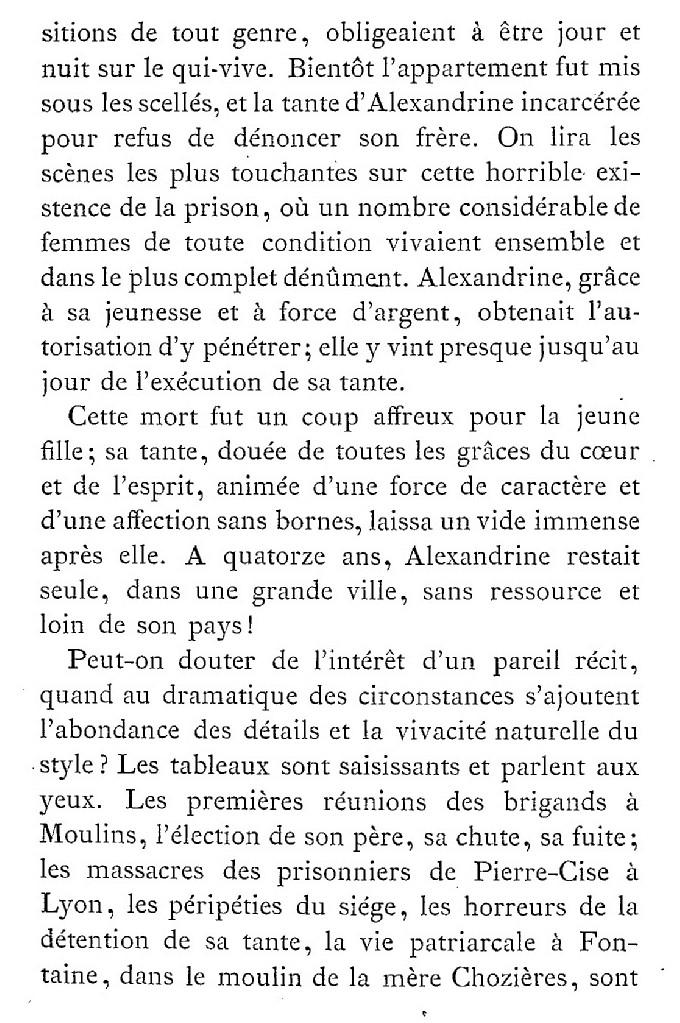 Une famille noble sous la Terreur,  (Mémoires) d'Alexandrine des Écherolles 418