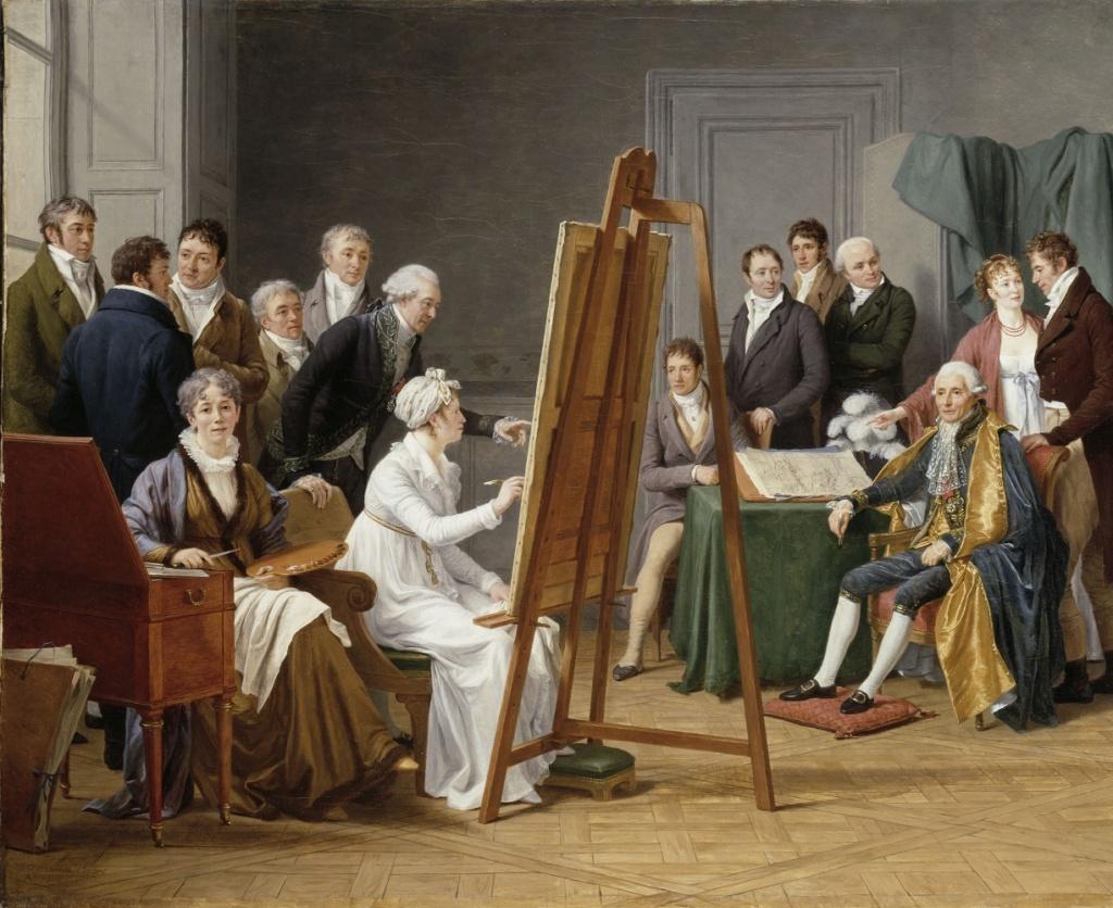 Exposition : Peintres femmes 1780-1830, naissance d'un combat. Au musée du Luxembourg Paris 47934e10