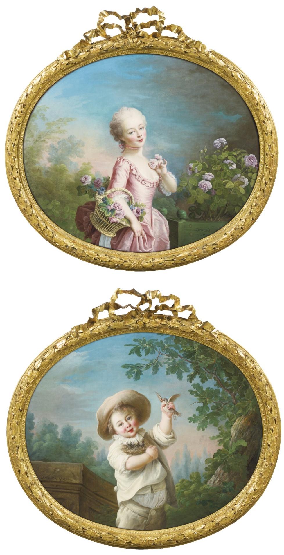 Les Drouais, artistes peintres de père en fils : Jean, Hubert, François-Hubert et Jean-Germain Drouais 503pf110