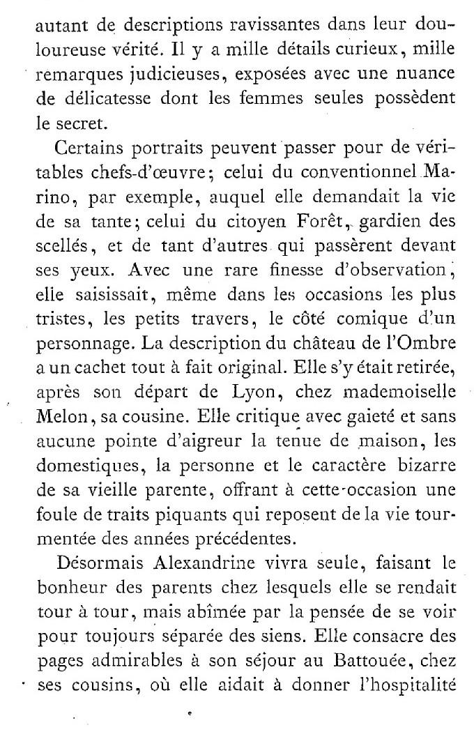 Une famille noble sous la Terreur,  (Mémoires) d'Alexandrine des Écherolles 516