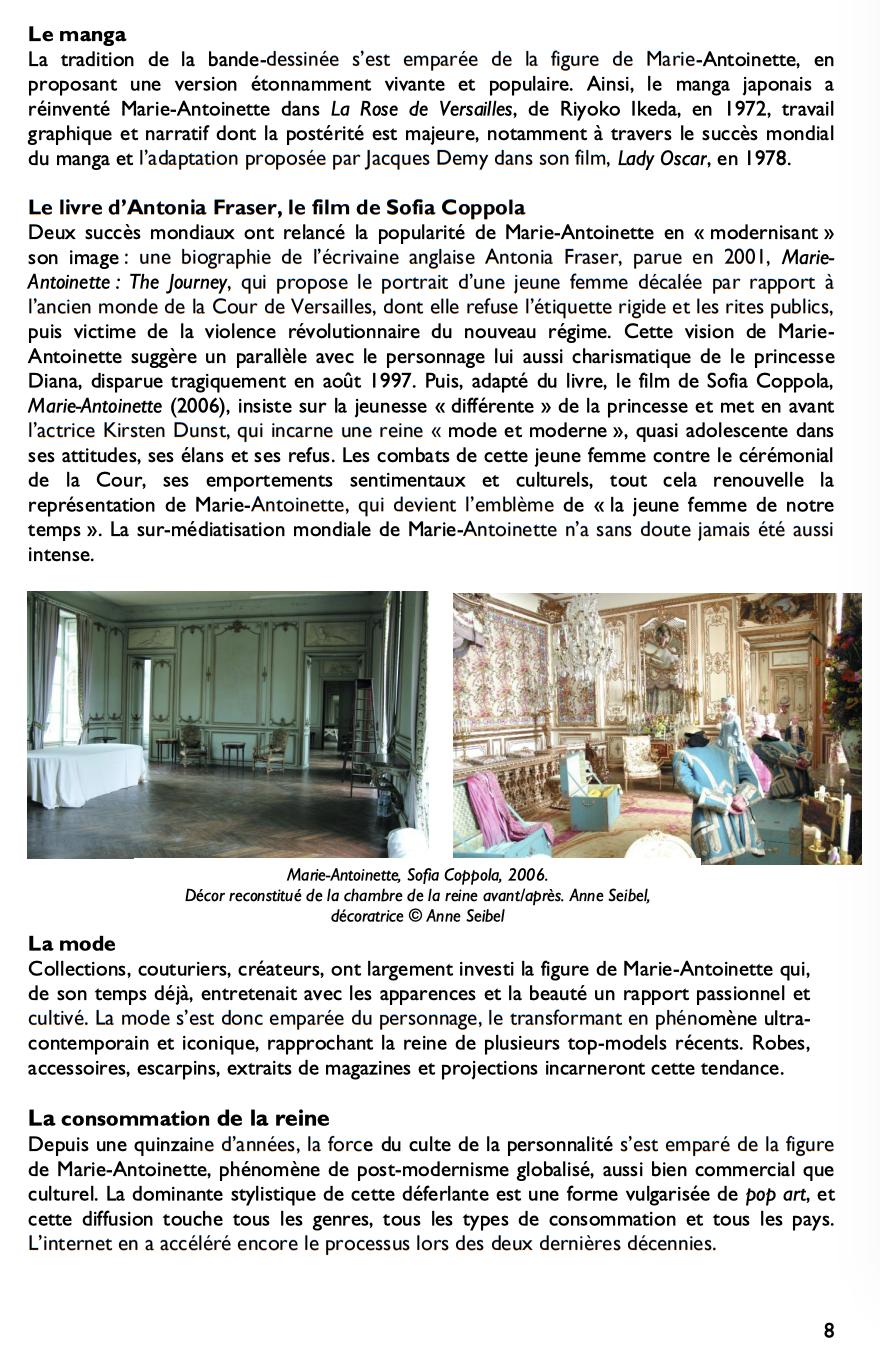Exposition à la Conciergerie : Marie-Antoinette, métamorphoses d'une image  516