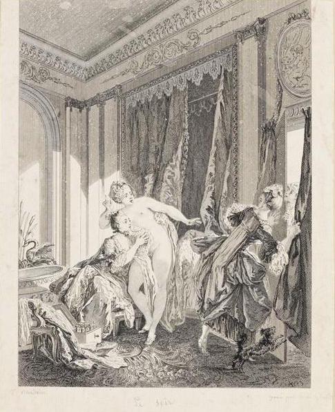 Pierre-Antoine Baudouin, dessinateur du libertinage au XVIIIe siècle 58559810