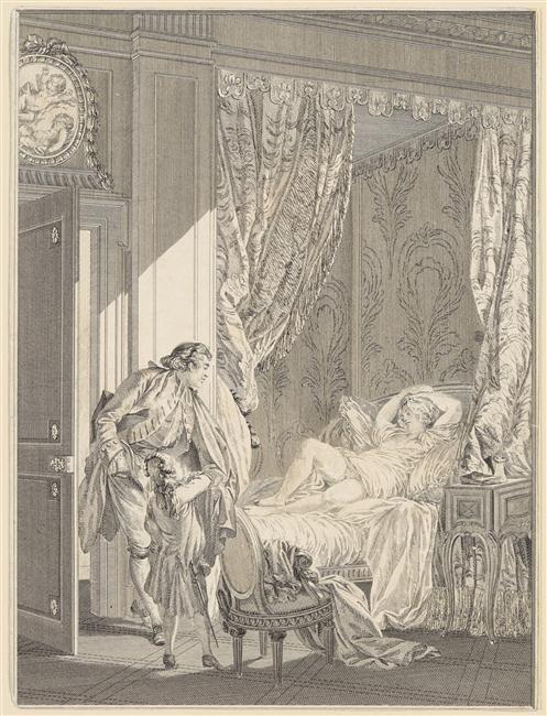 Pierre-Antoine Baudouin, dessinateur du libertinage au XVIIIe siècle 58588910