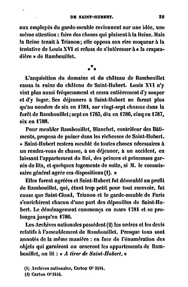 Saint-Hubert, château royal délaissé par Louis XVI 5_le_c10