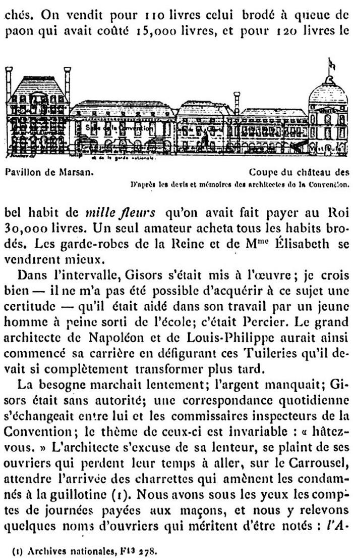 Ventes aux enchères des effets et mobiliers des Tuileries après les pillages du 10 août 1792 610