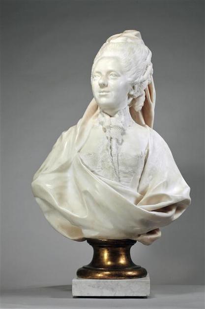 Buste de Mme Adélaïde, de Mme Clotilde, ou d'une inconnue (mais non pas de Marie-Antoinette) par Vavasseur ?  61970810