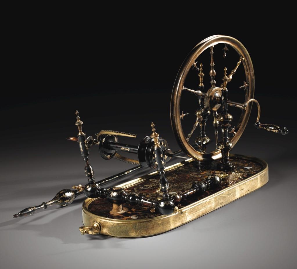Un rouet ayant appartenu à Marie-Antoinette ? Les rouets au XVIIIe siècle 636pf110
