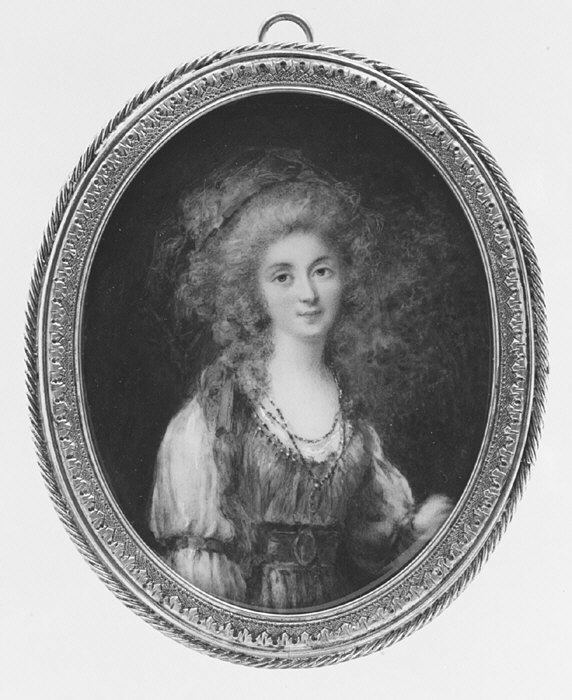 Marie Antoinette, miniatures attribuées à ou d'après François Dumont - Page 2 6407510