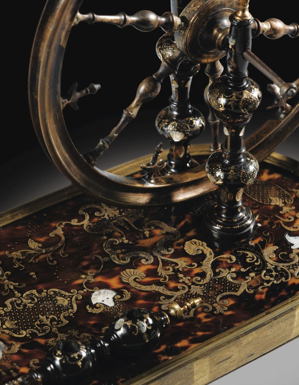 Un rouet ayant appartenu à Marie-Antoinette ? Les rouets au XVIIIe siècle 641pf110