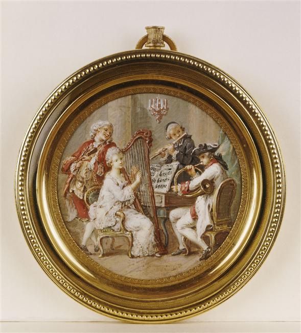 Pierre-Antoine Baudouin, dessinateur du libertinage au XVIIIe siècle 74-00010