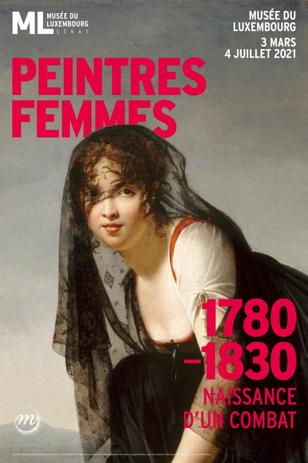 Exposition : Peintres femmes 1780-1830, naissance d'un combat. Au musée du Luxembourg Paris 76bf3110