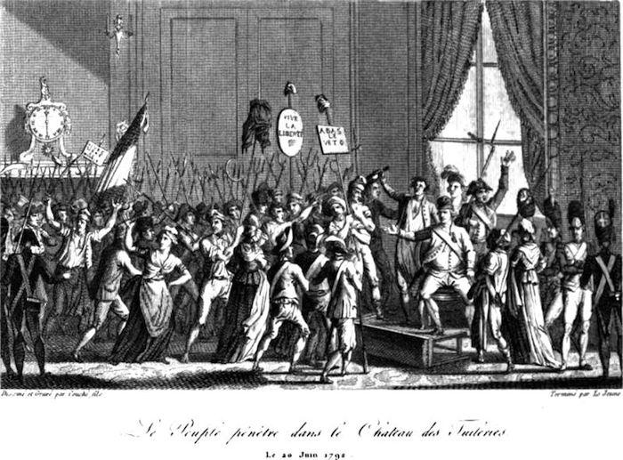 20 juin 1792 - La journée du 20 juin 1792  800px-15