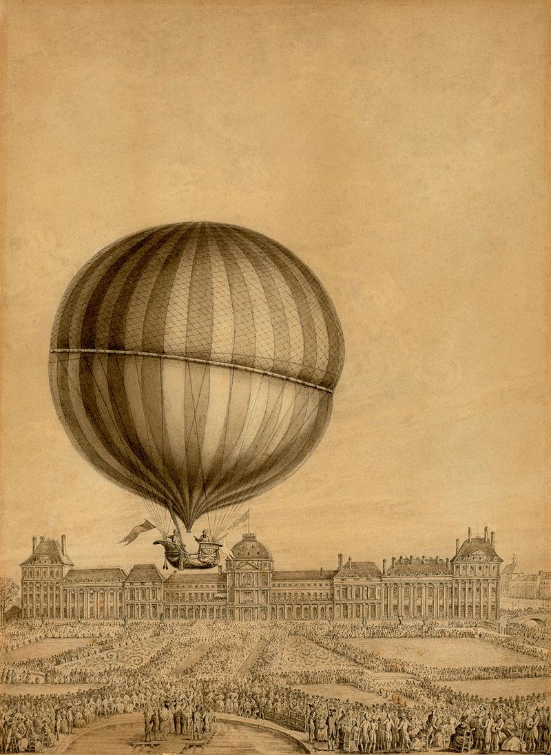 La conquête de l'espace au XVIIIe siècle, les premiers ballons et montgolfières !  - Page 7 800px-70