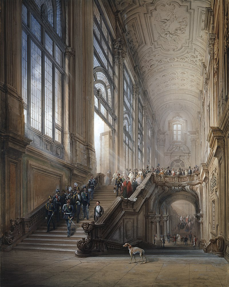 Le Palais Madame à Turin (Palazzo Madama, Torino) 800px-79