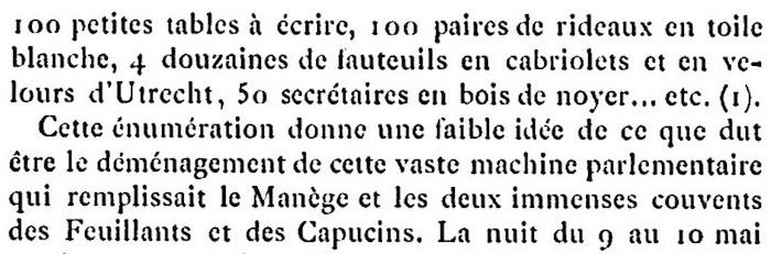 Ventes aux enchères des effets et mobiliers des Tuileries après les pillages du 10 août 1792 810