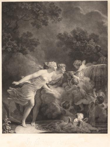 Gérard - L'artiste peintre Marguerite Gérard 826pf110