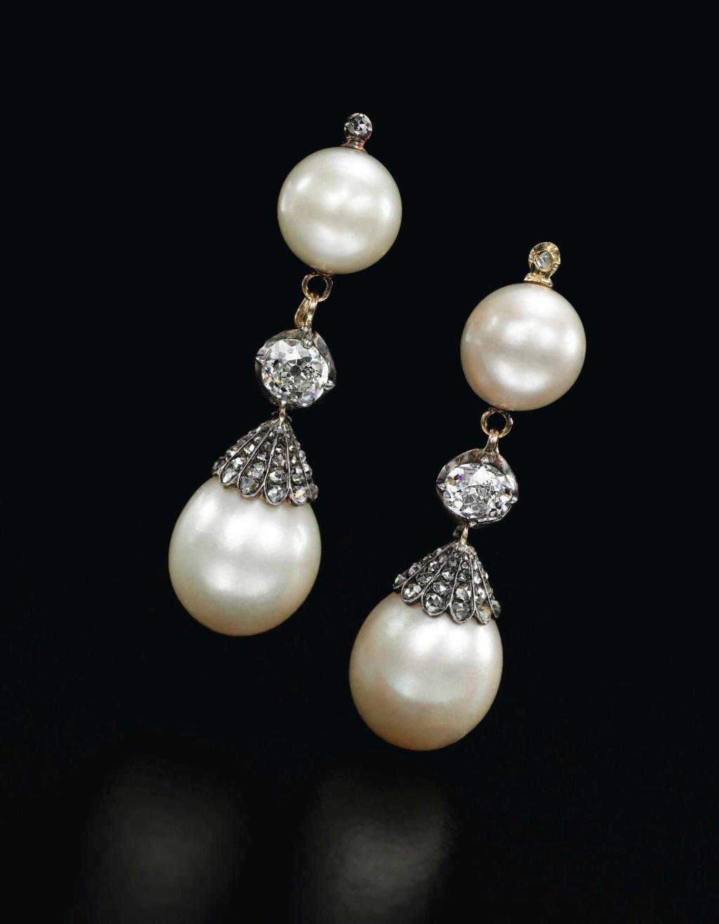 Bijoux de Marie-Antoinette : boucles d'oreilles et girandoles 909ge111