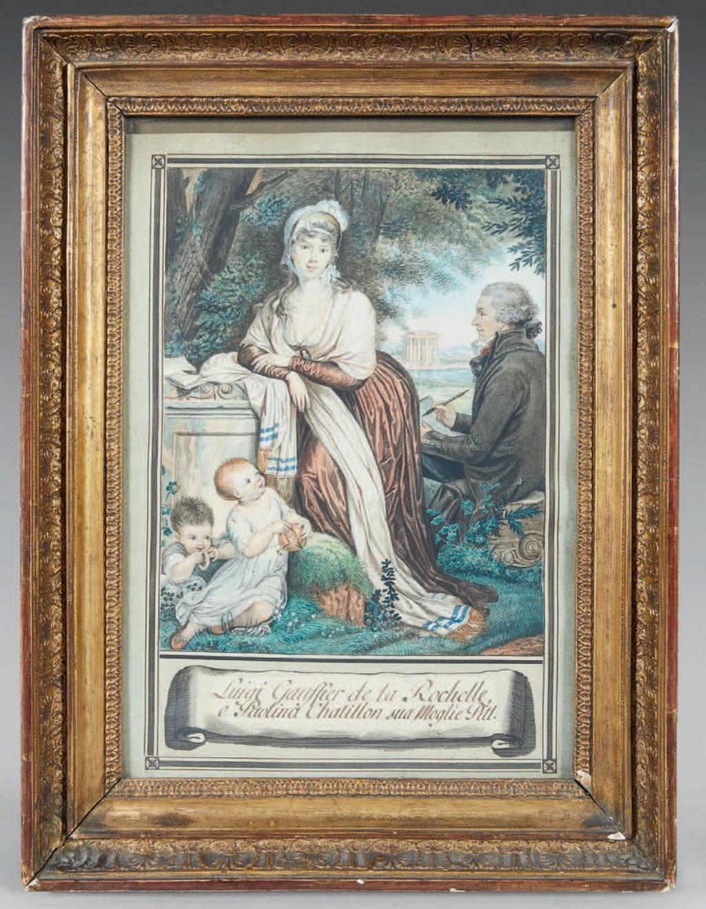 Louis Gauffier (1762-1801), peintre français installé en Italie 92d51c10