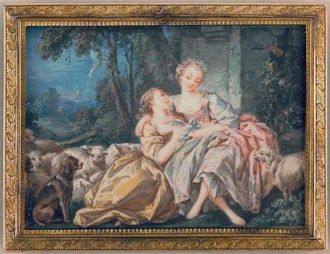 Pierre-Antoine Baudouin, dessinateur du libertinage au XVIIIe siècle 98-00210