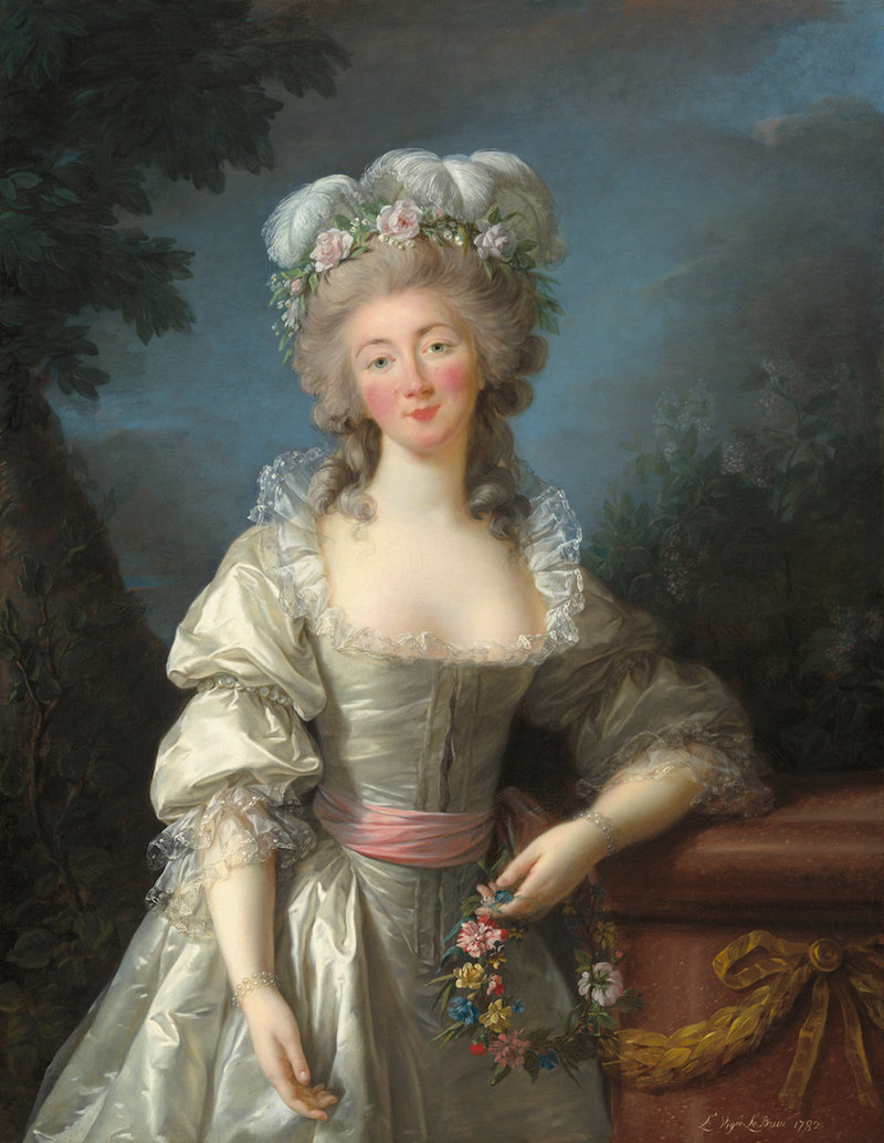 Portraits de la comtesse du Barry par (et d'après) Elisabeth Vigée Le Brun A4190012