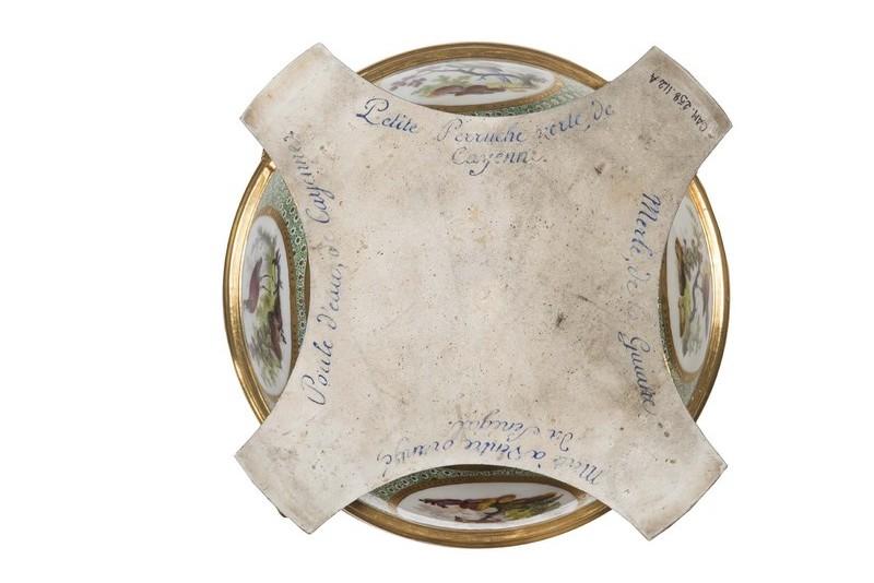 """Seaux à glace """" à trépieds """" en porcelaine de Sèvres  A6417312"""