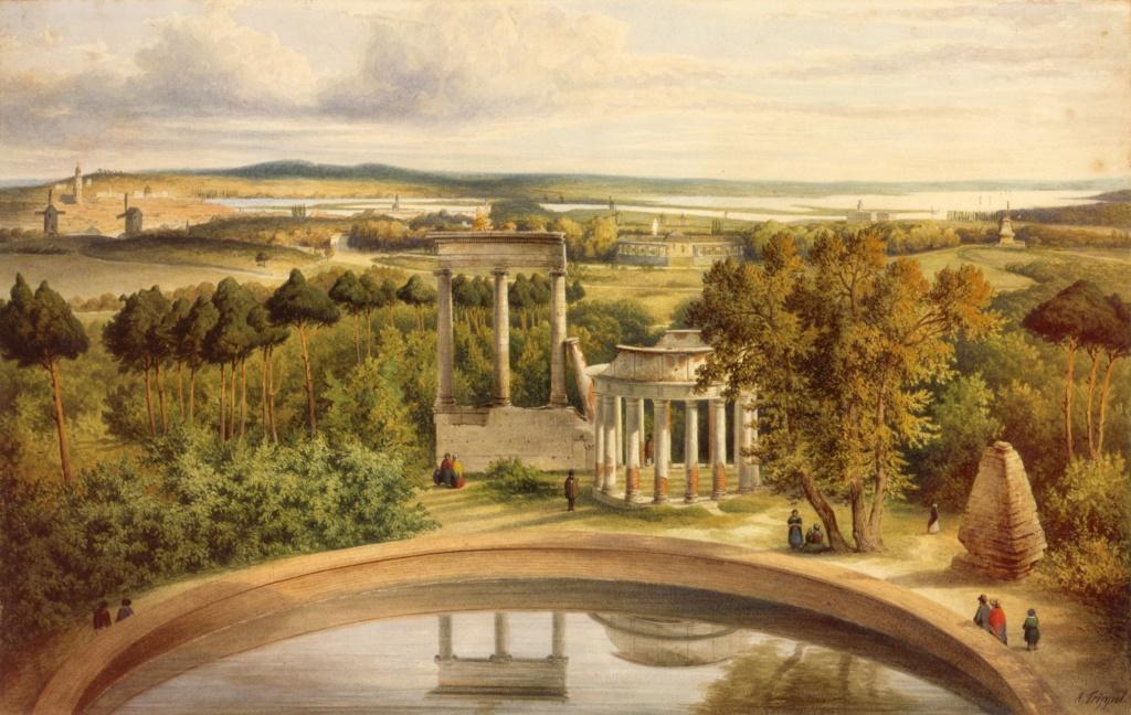 Le palais et le parc de Sans-souci, ou Sanssouci, à Potsdam  Abb_3610