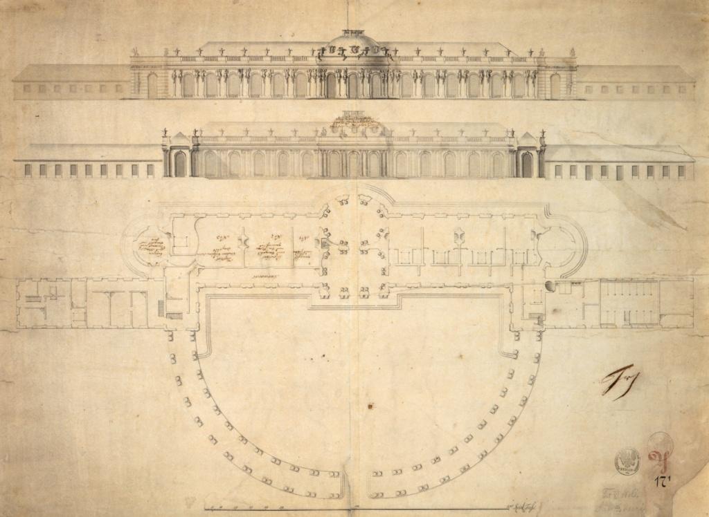 Le palais et le parc de Sans-souci, ou Sanssouci, à Potsdam  Abb_c10