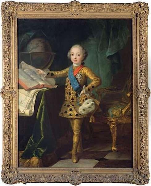 fredou - Portraits de Marie-Antoinette et de la famille royale, par Jean-Martial Frédou Acb65210