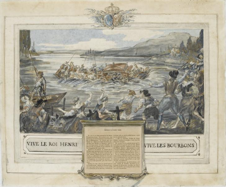 Le pont de Neuilly au XVIIIe siècle Accide10