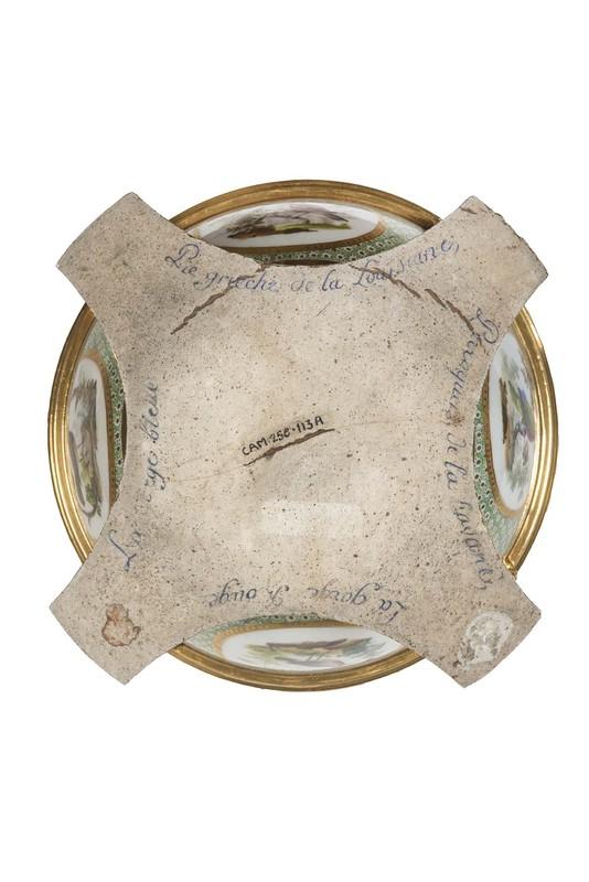 """Seaux à glace """" à trépieds """" en porcelaine de Sèvres  Af567510"""