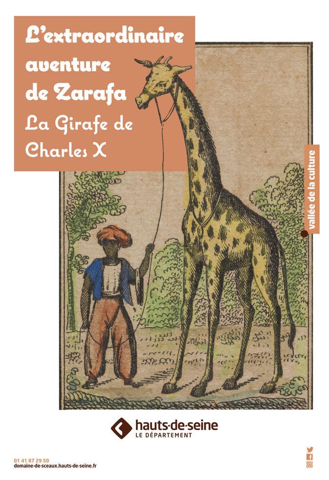 La girafe de Charles X, dite Zarafa Affich16