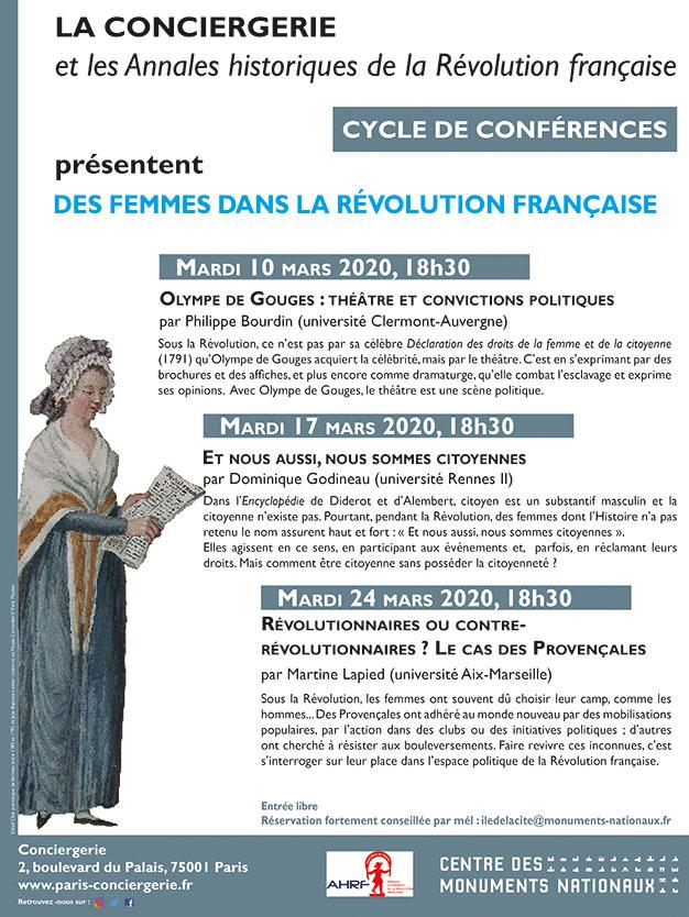 Exposition à la Conciergerie : Femmes en Révolution Affich17