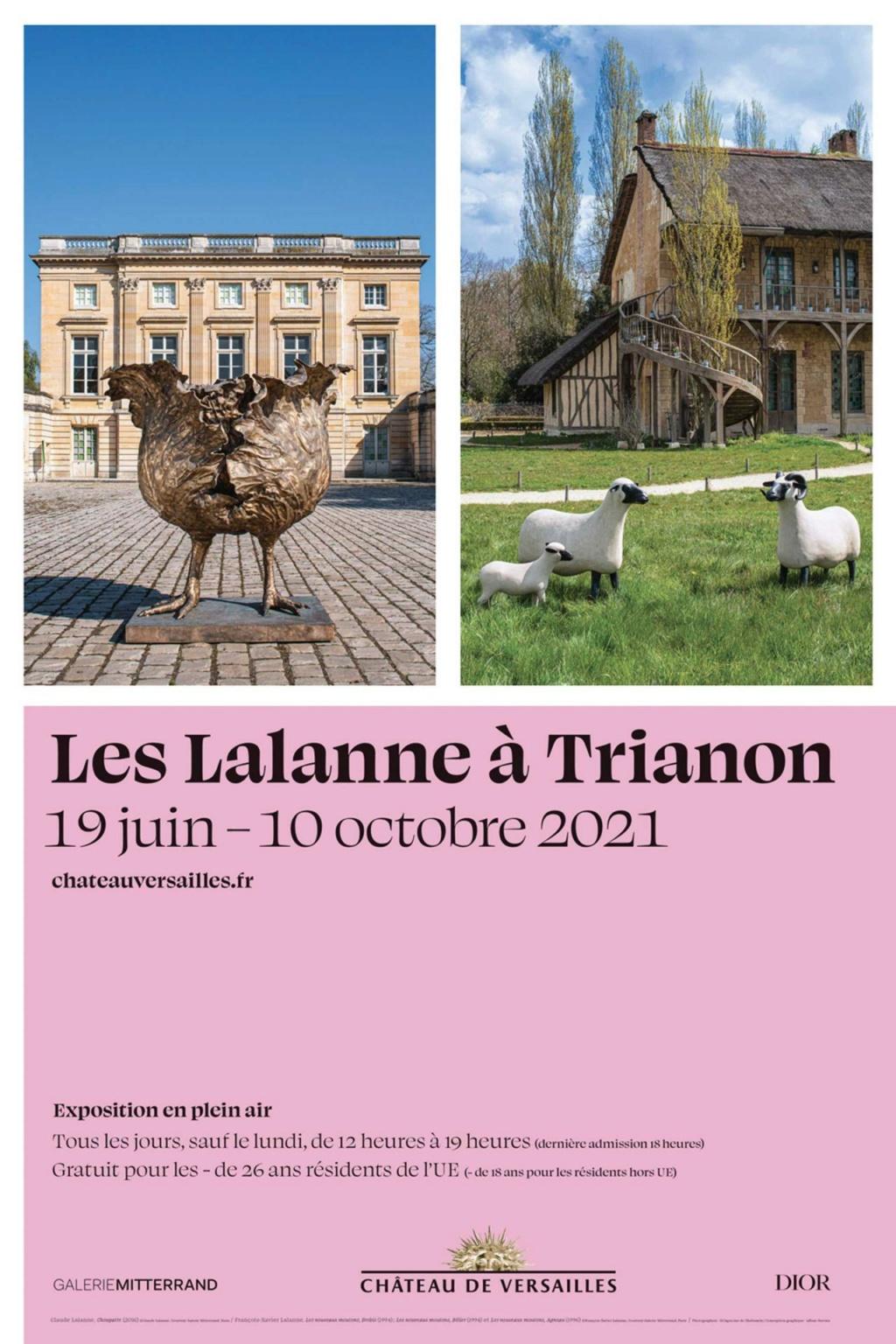Exposition : Les Lalanne à Trianon (Juin à octobre 2021) Affich18