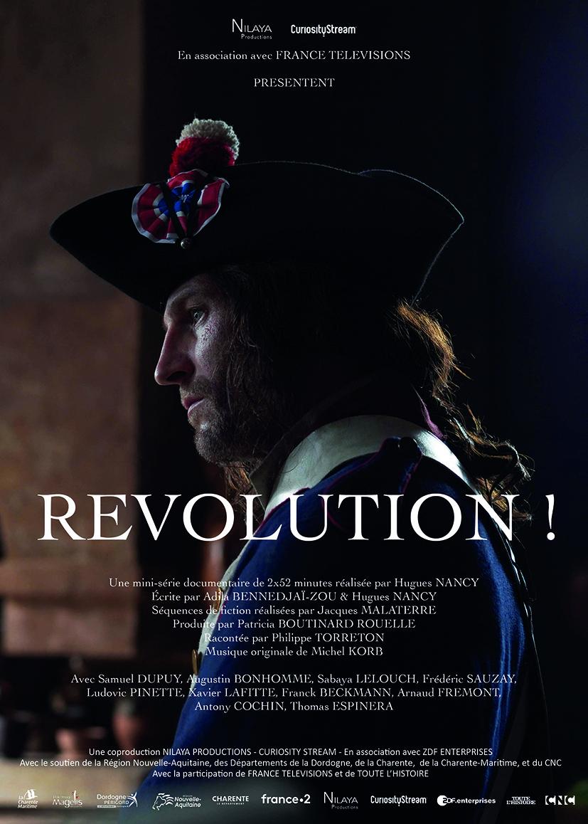 Révolution ! Docu-fiction en deux parties diffusé sur France 2 Affich19