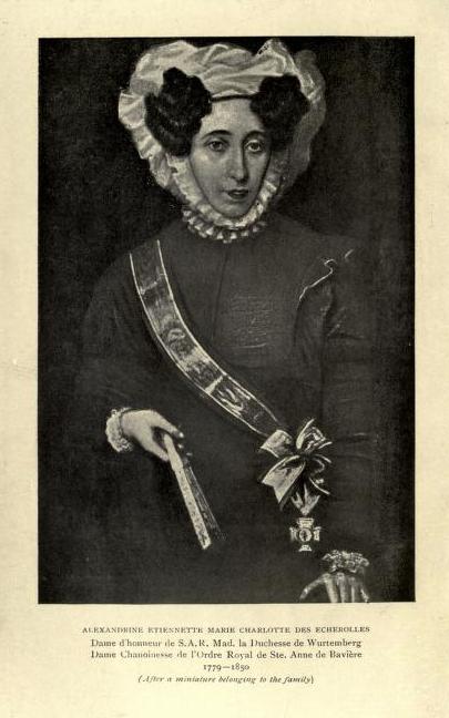 Une famille noble sous la Terreur,  (Mémoires) d'Alexandrine des Écherolles Agde10