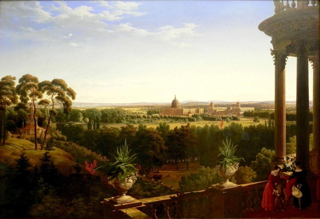 Le palais et le parc de Sans-souci, ou Sanssouci, à Potsdam  Ahlbor10