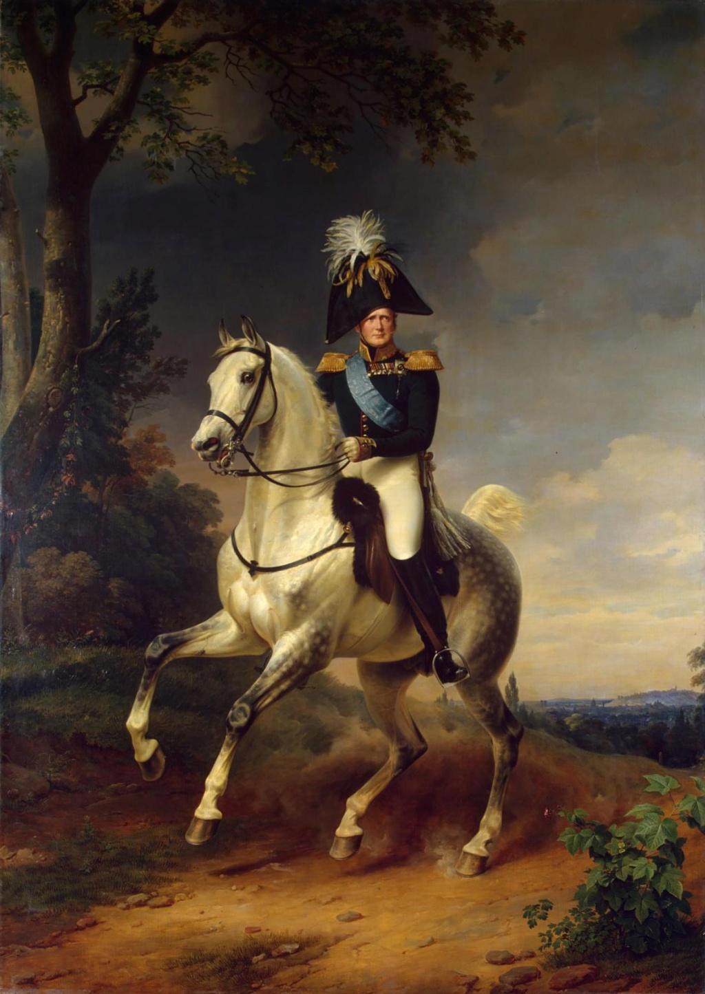 L'entrevue du Tsar Alexandre Ier et de Louis XVIII à Compiègne, le 1er mai 1814 Alexan11