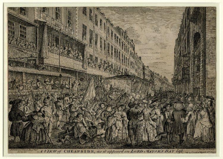 Londres au XVIIIe siècle An003310