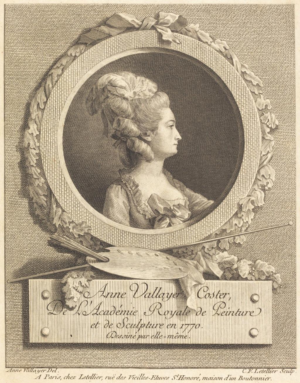 Anne Vallayer-Coster, chef du cabinet de peinture de Marie-Antoinette Anne_v10
