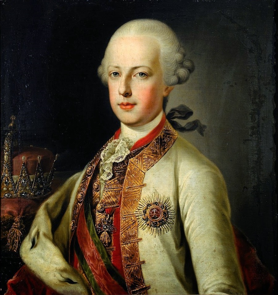 Les visites des archiducs Maximilien et Ferdinand d'Autriche, à Versailles Archdu12