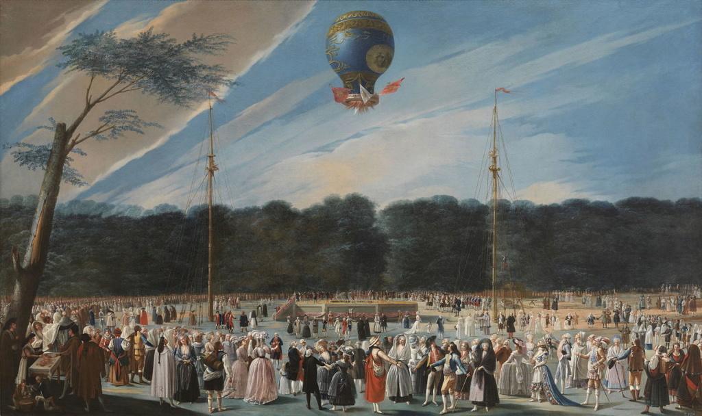 La conquête de l'espace au XVIIIe siècle, les premiers ballons et montgolfières !  - Page 7 Ascens10