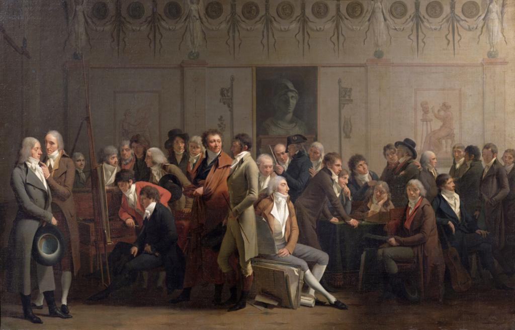 Louis-Léopold Boilly : peintre de la société parisienne de Louis XVI à Louis-Philippe Atelie11