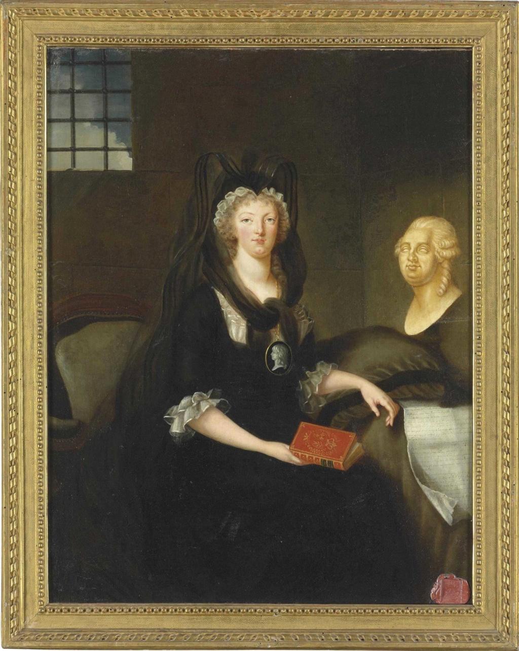 Portraits de Marie-Antoinette par la marquise de Bréhan Attrib12