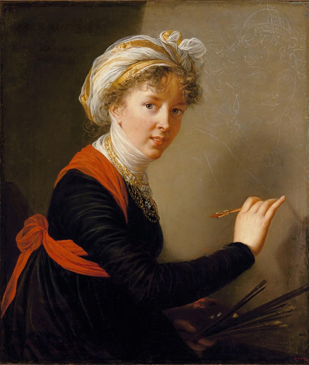 Exposition : Peintres femmes 1780-1830, naissance d'un combat. Au musée du Luxembourg Paris Autopo10