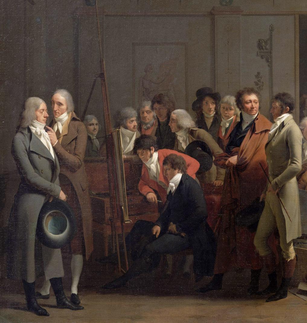Louis-Léopold Boilly : peintre de la société parisienne de Louis XVI à Louis-Philippe B2494710