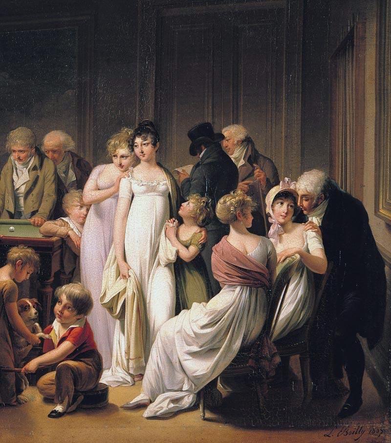Louis-Léopold Boilly : peintre de la société parisienne de Louis XVI à Louis-Philippe B4892111