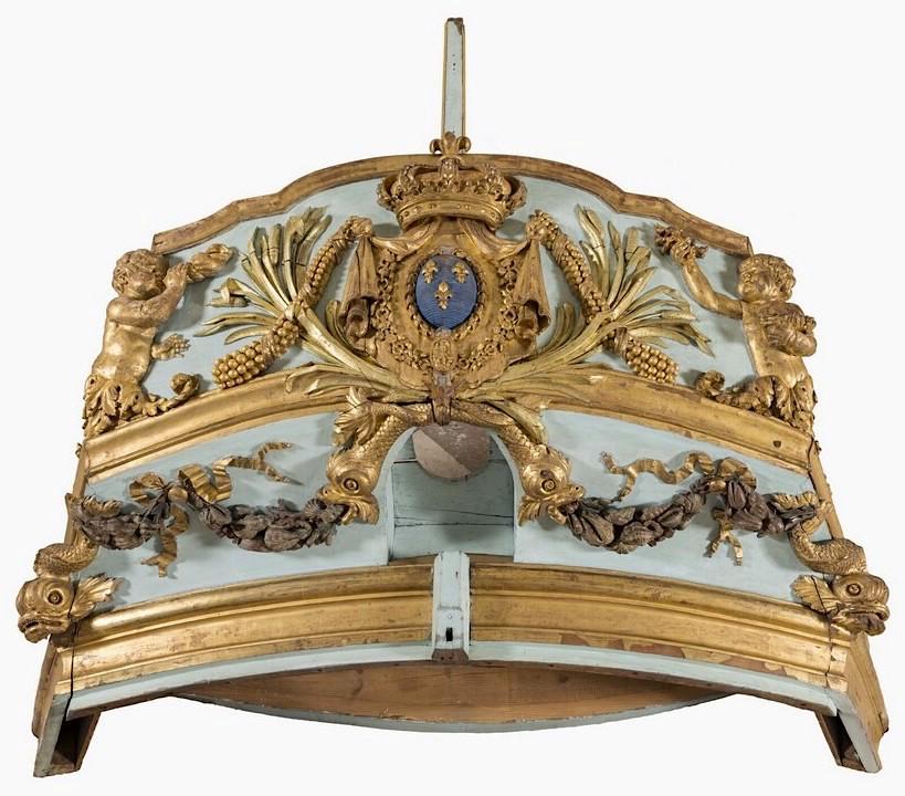 Le canot de promenade de Marie-Antoinette à Versailles Bateau10