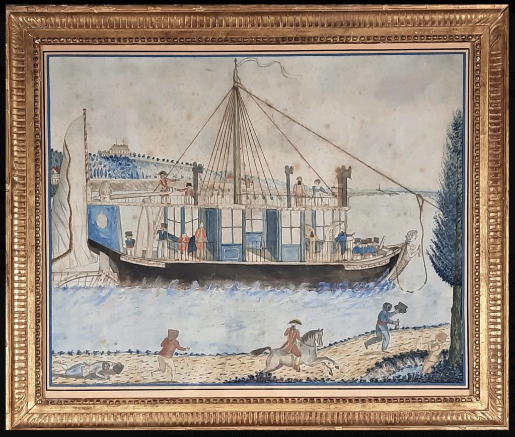 La Sirène : le bateau ou yacht royal de Marie-Antoinette Bateau11